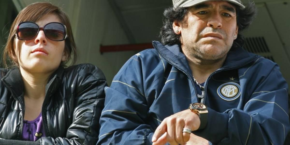 La hija de Maradona publica un duro mensaje y revela detalles de la relación con su padre