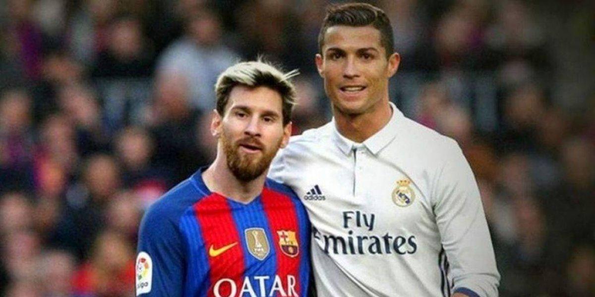 Cristiano Ronaldo y Lionel Messi en once ideal de L'Équipe