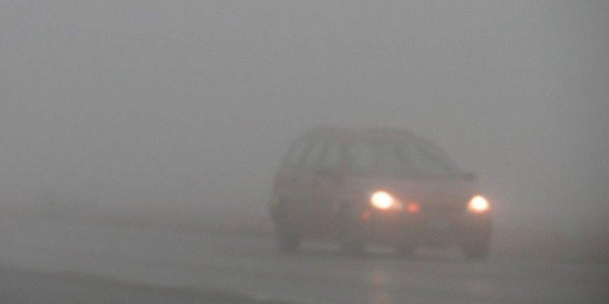 Cierran la autopista Monterrey - Saltillo por neblina