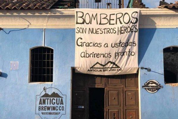Antigua Brewing Co. agradeció a rescatistas