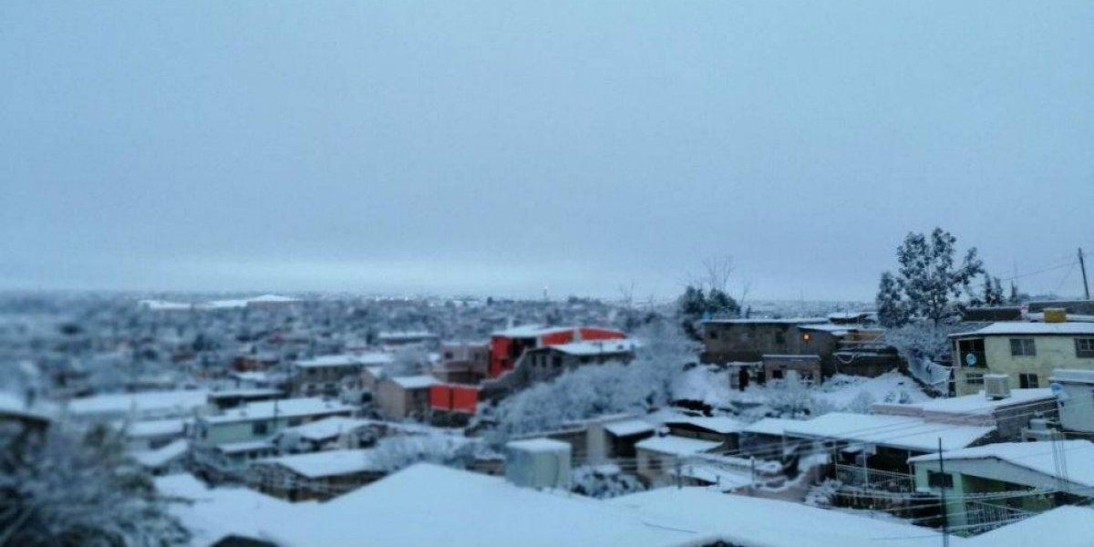 Galería: Frente frío 22 cubre de nieve a Sonora