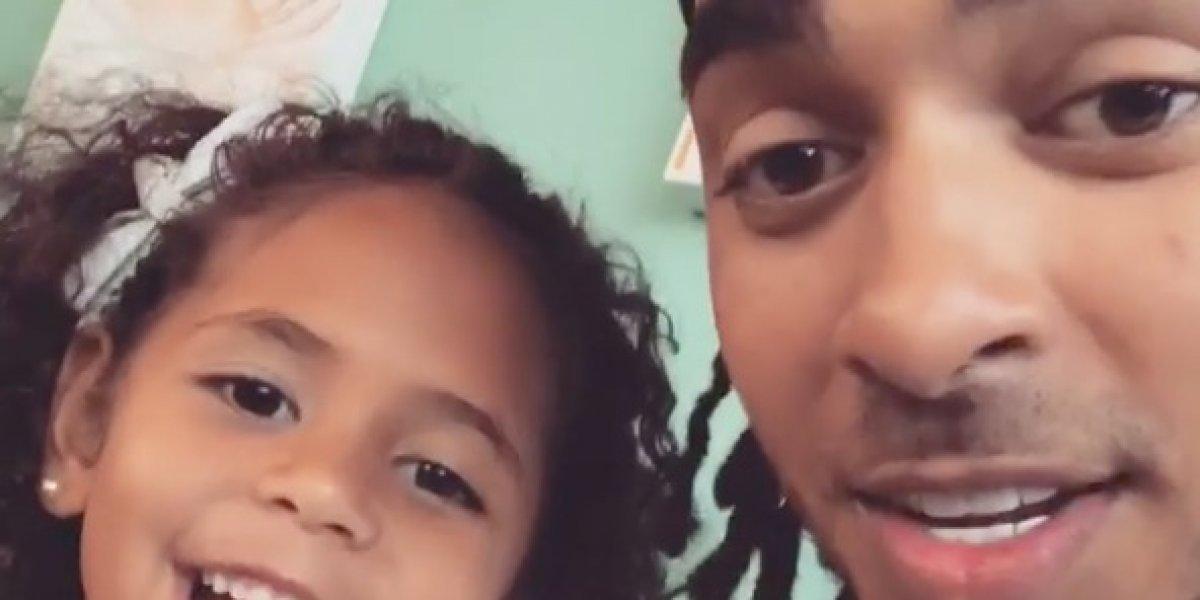 Ozuna comparte tierno vídeo cantando con su pequeña