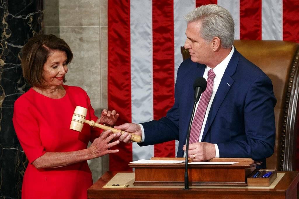 Nancy Pelosi en el Congreso de EE.UU.