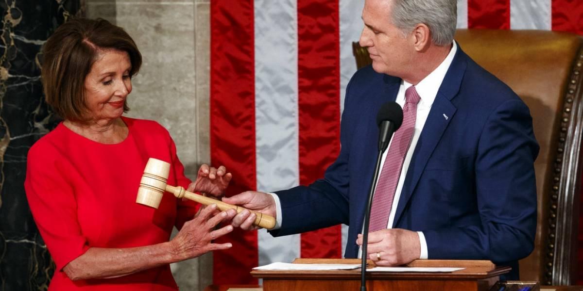 """Nancy Pelosi ve """"nuevo amanecer"""" en Congreso de EE. UU."""