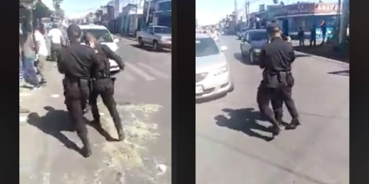 Investigan video donde se muestra a agente de PNC aparentemente ebrio