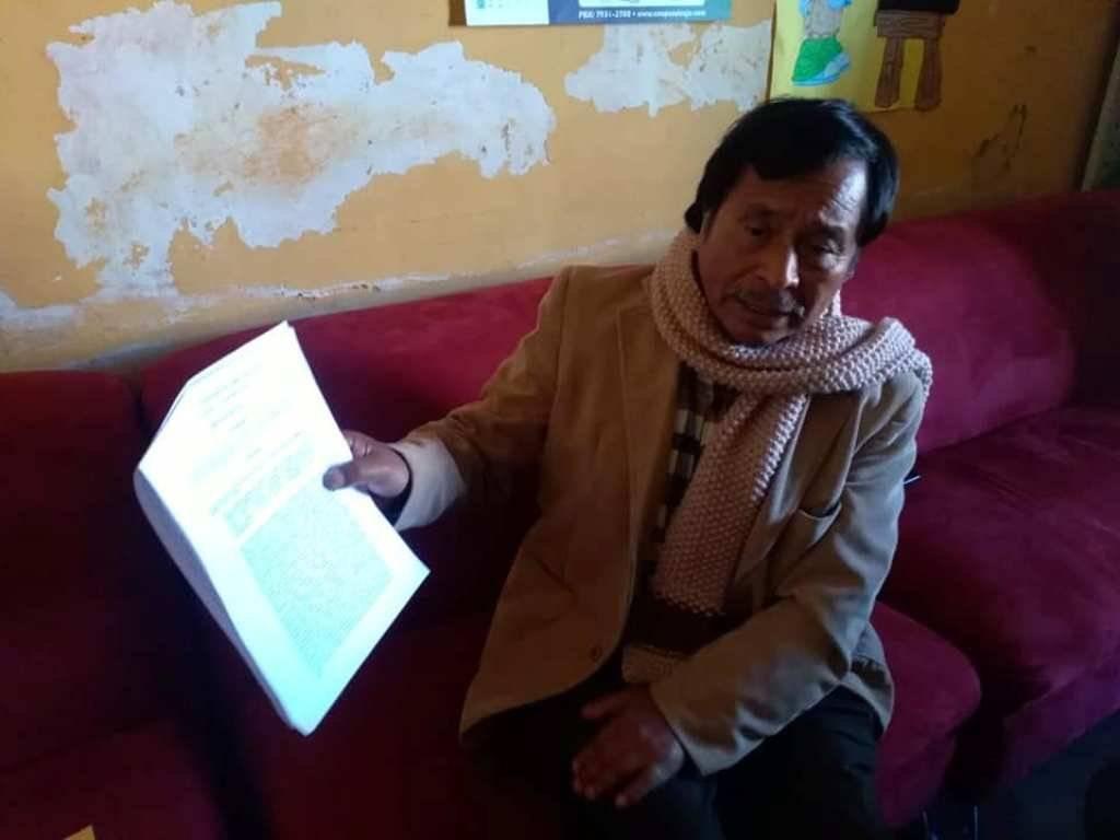 Ramón Yax, supervisor educativo de Quetzaltenango, destituido