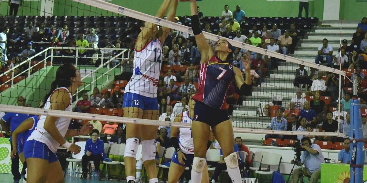 RD vs PR en Serie del Caribe Voleibol Femenino
