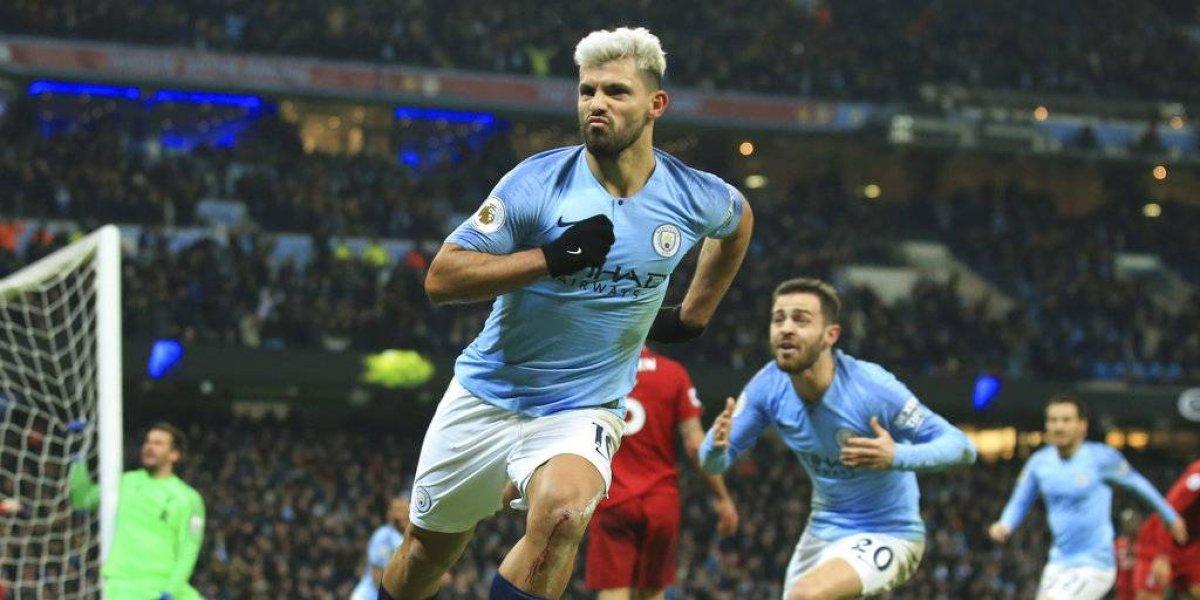 El City acaba con el invicto del Liverpool y se mete a la pelea por la Premier