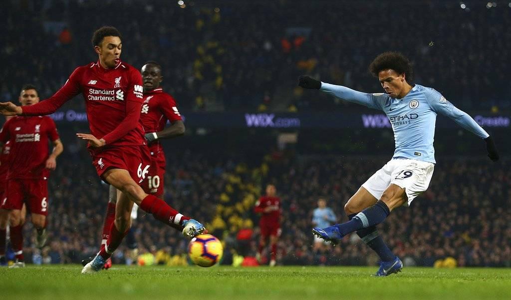 Gol de Leroy Sané contra el Liverpool