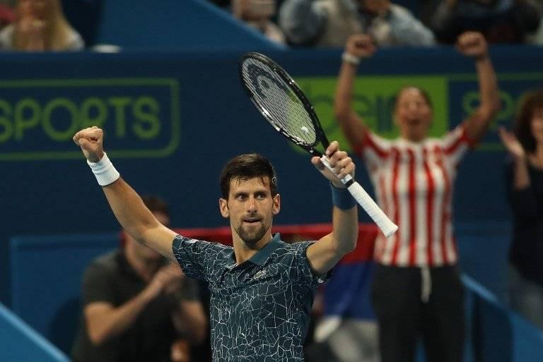 Novak Djokovic gana en el torneo de Doha 2019