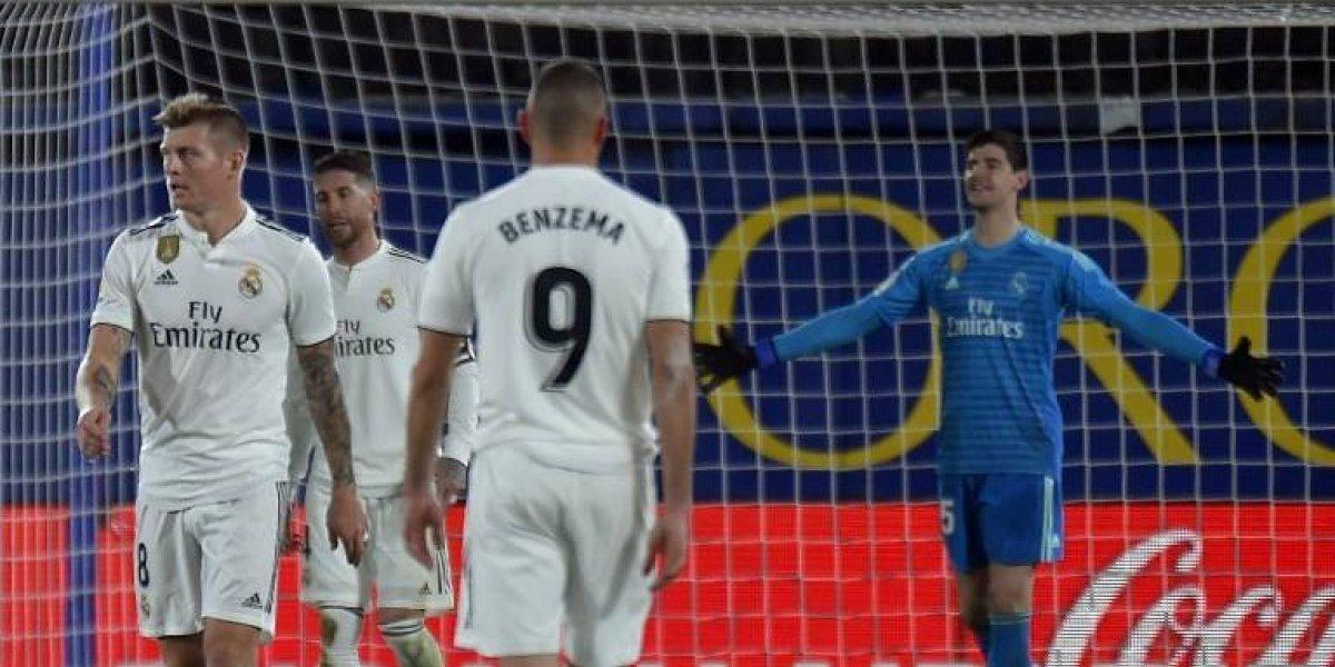 Thibaut Courtois se lesiona y será baja con el Real Madrid
