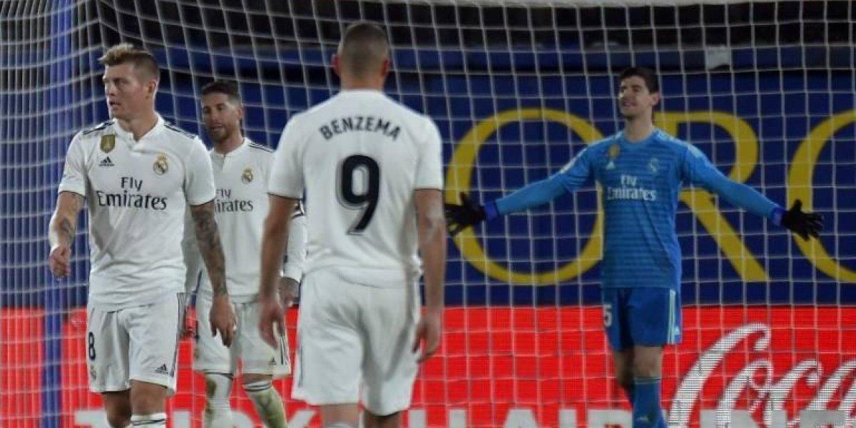 Bale se lesiona y el Madrid tropieza en su primer partido del 2019