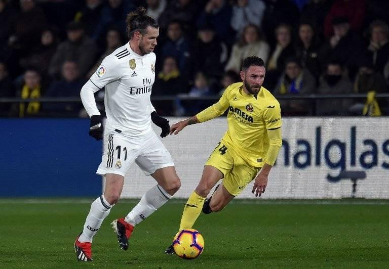 Gareth Bale contra el Villarreal