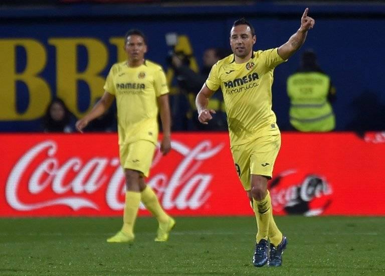 Gol de Santi Cazorla contra el Real Madrid