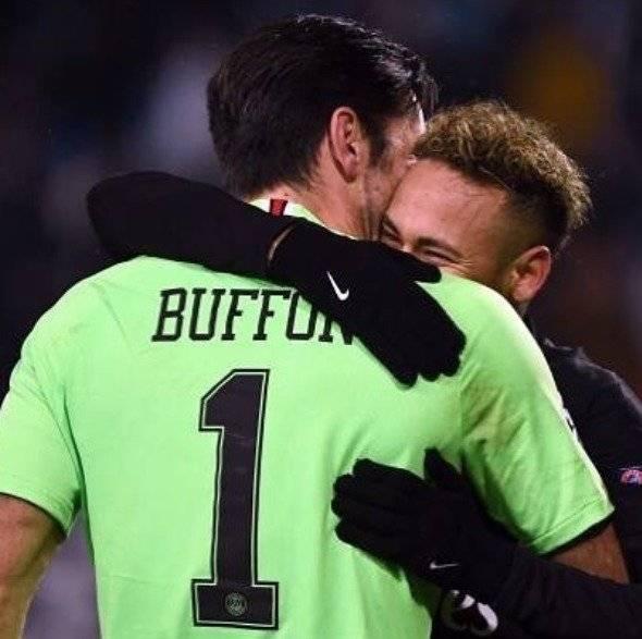 Buffon e Neymar