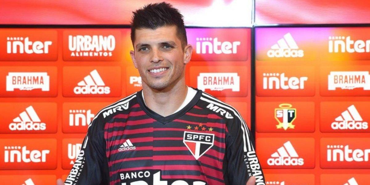 Volpi dio gracias a Querétaro y la Liga MX en su presentación con Sao Paulo