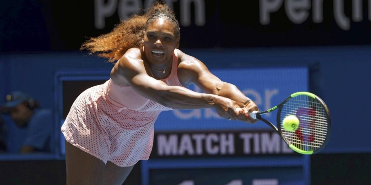 Serena Williams gana su tercer partido individual en Copa Hopman