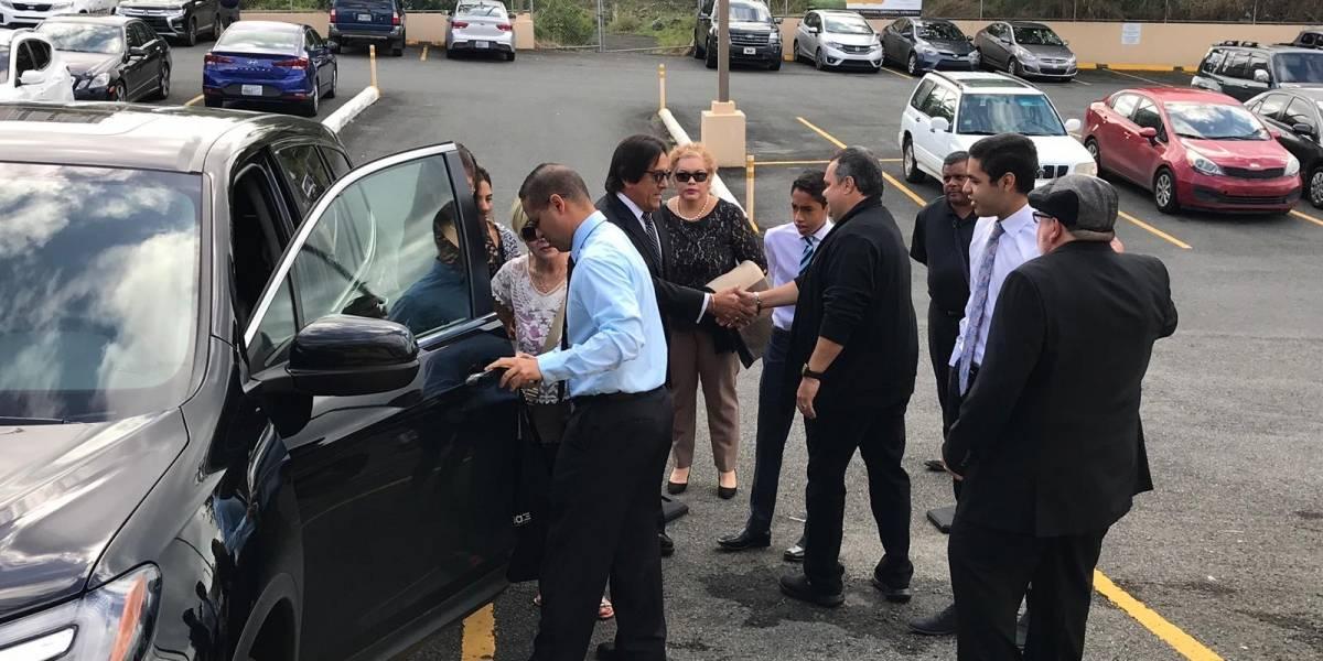 Llegan a Santurce a despedirse de Keylla Hernández