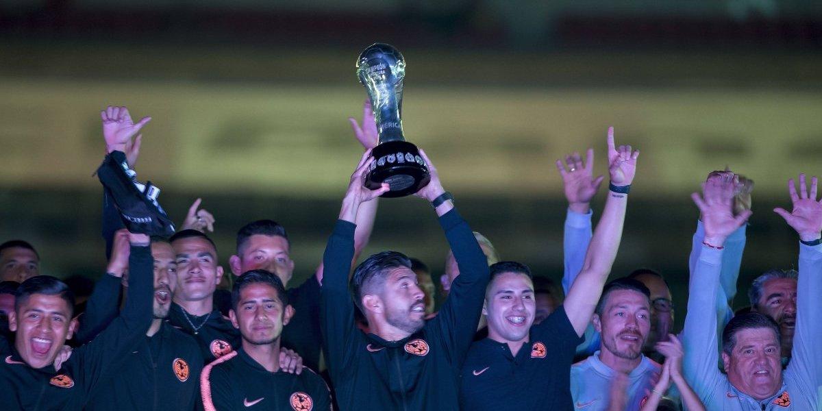 FOTOS: América celebró a lo grande sus títulos del 2018 en el Estadio Azteca