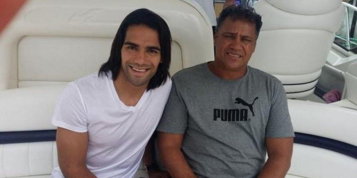 Drama en Colombia: murió el padre de Radamel Falcao mientras jugaba tenis