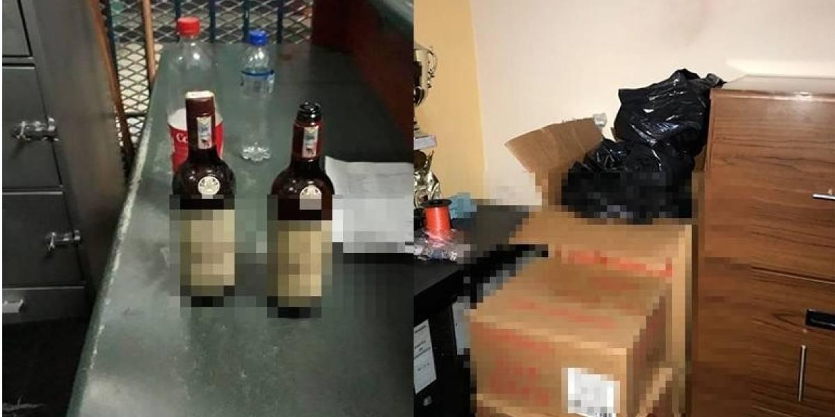 Director de la cárcel de Ibarra detenido por beber en su oficina con dos privados de la libertad