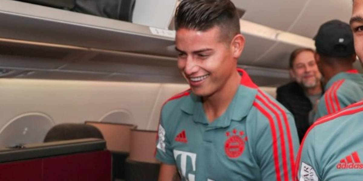 James fue convocado a la pretemporada de Bayern Munich