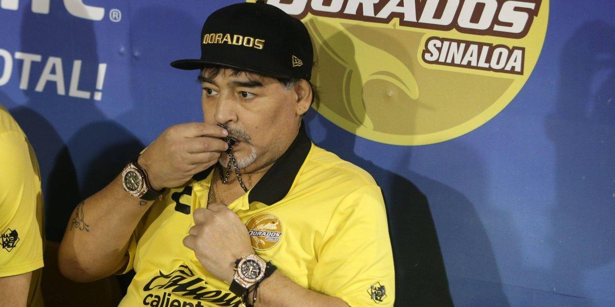 OFICIAL: Maradona continuará en el banquillo de Dorados