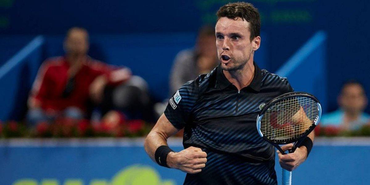 Roberto Bautista dio el primer golpe del 2019 y sacó a Novak Djokovic del ATP de Doha