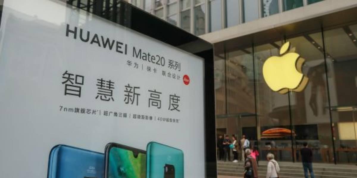 """Bochornoso saludo de Huawei """"vía iPhone"""" genera sanciones al interior de la compañía"""