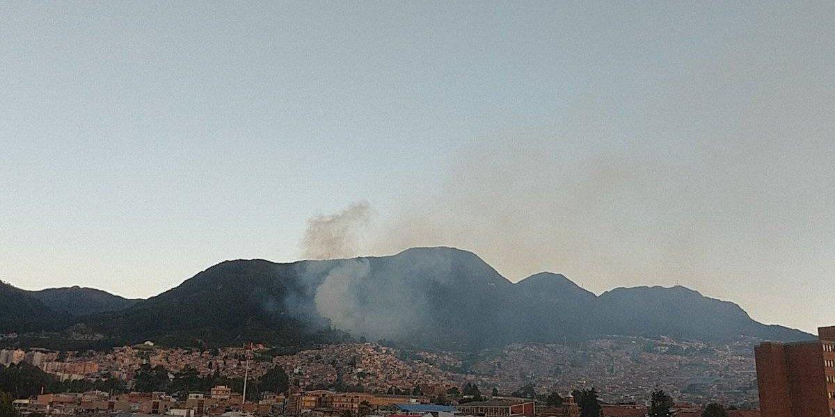¡Atención! Se reportan incendios en los cerros orientales de Bogotá