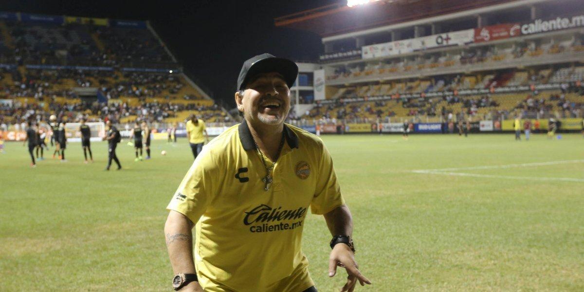 Maradona: 'No pasó nada, todos me desearon lo mejor'