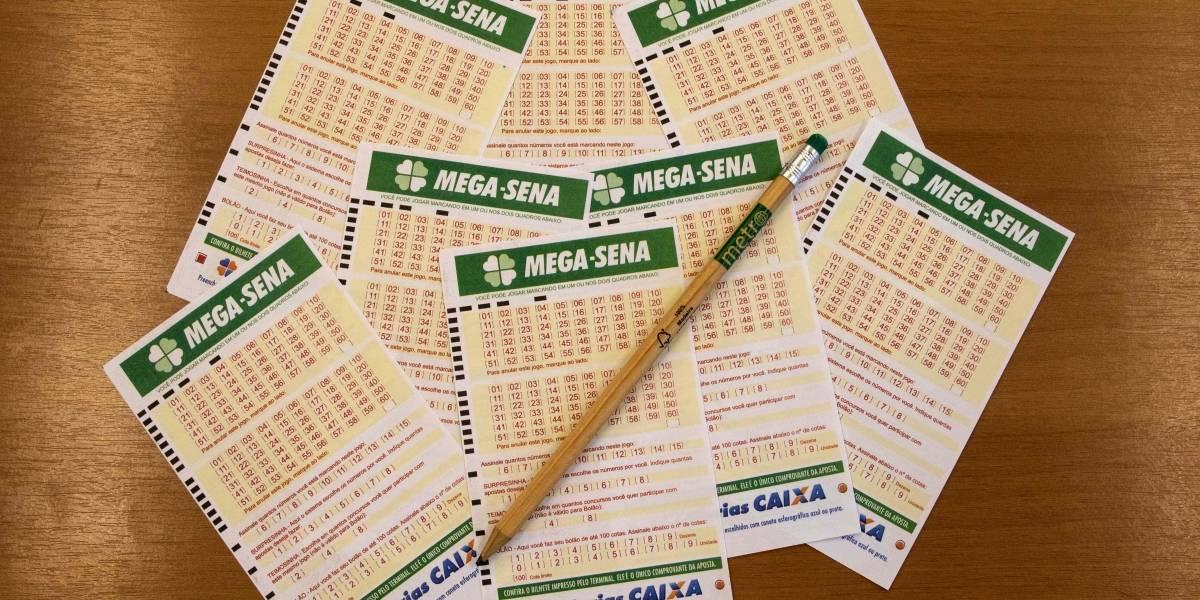 Mega-Sena: veja números sorteados nesta quarta-feira
