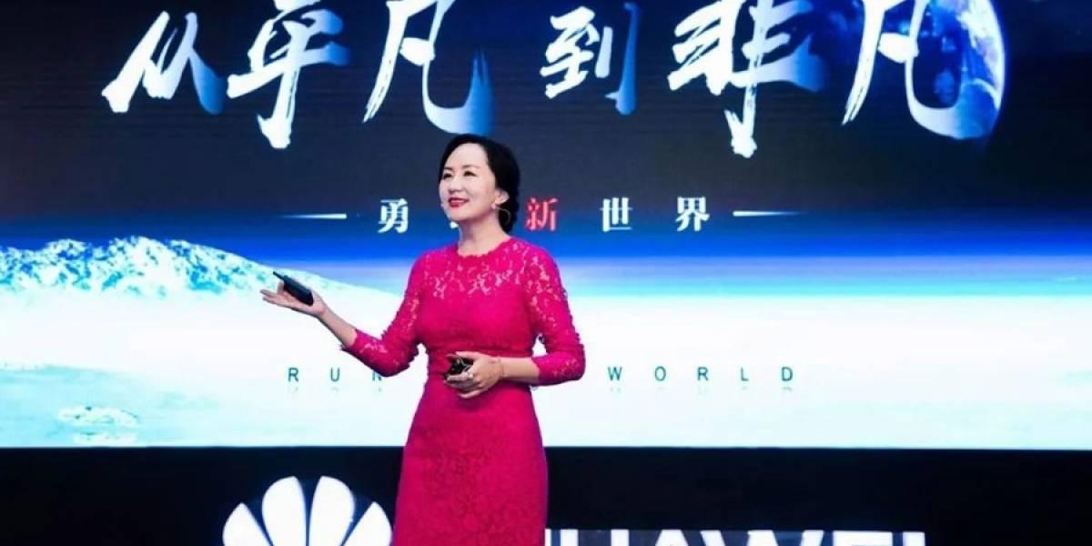 """Directora financiera de Huawei: """"Todavía existe la buena fe en el mundo"""""""