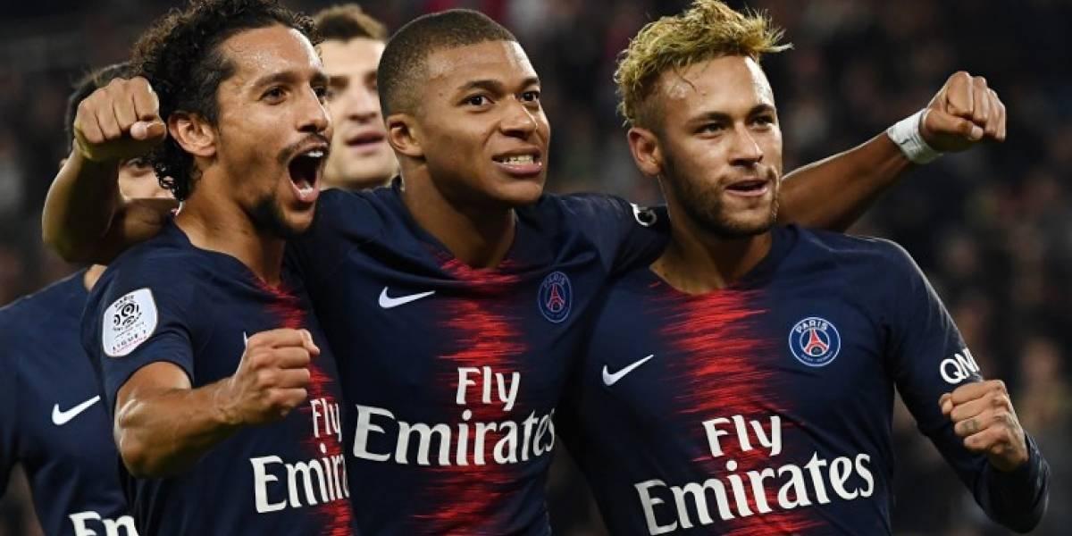 El PSG regresa a los entrenamientos con sus estrellas Neymar y Mbappé