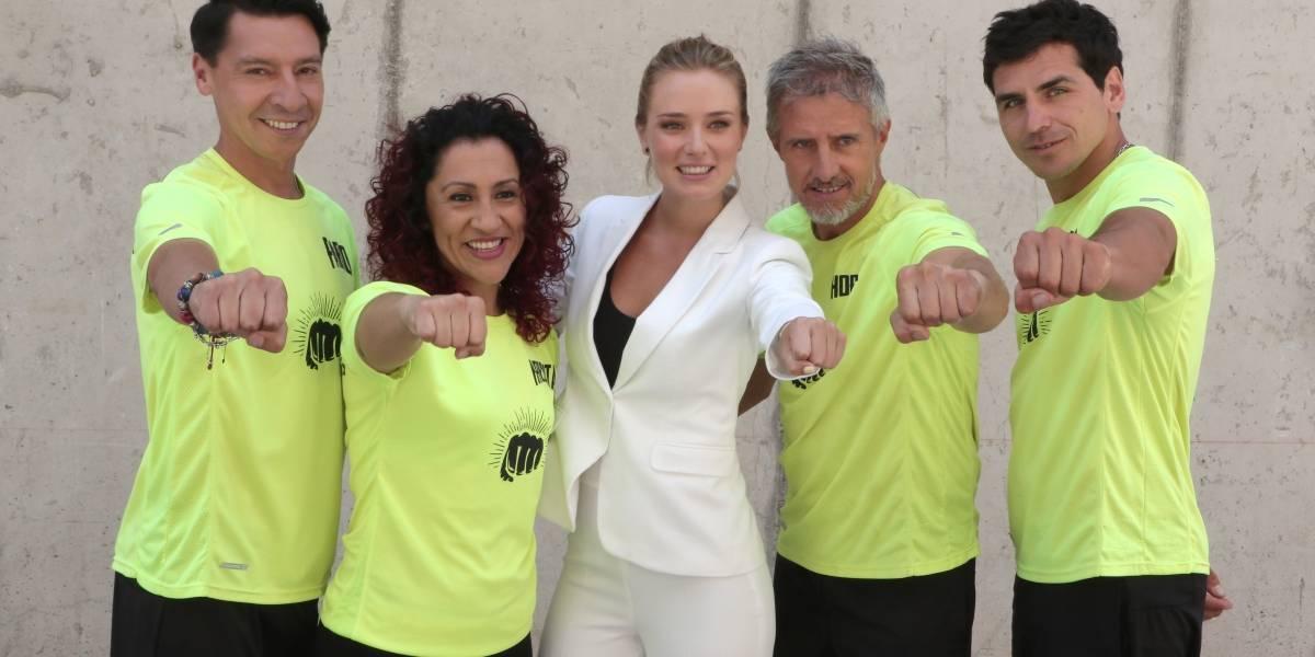 """Kika Silva debuta en la conducción con """"Invencibles"""" de CHV"""