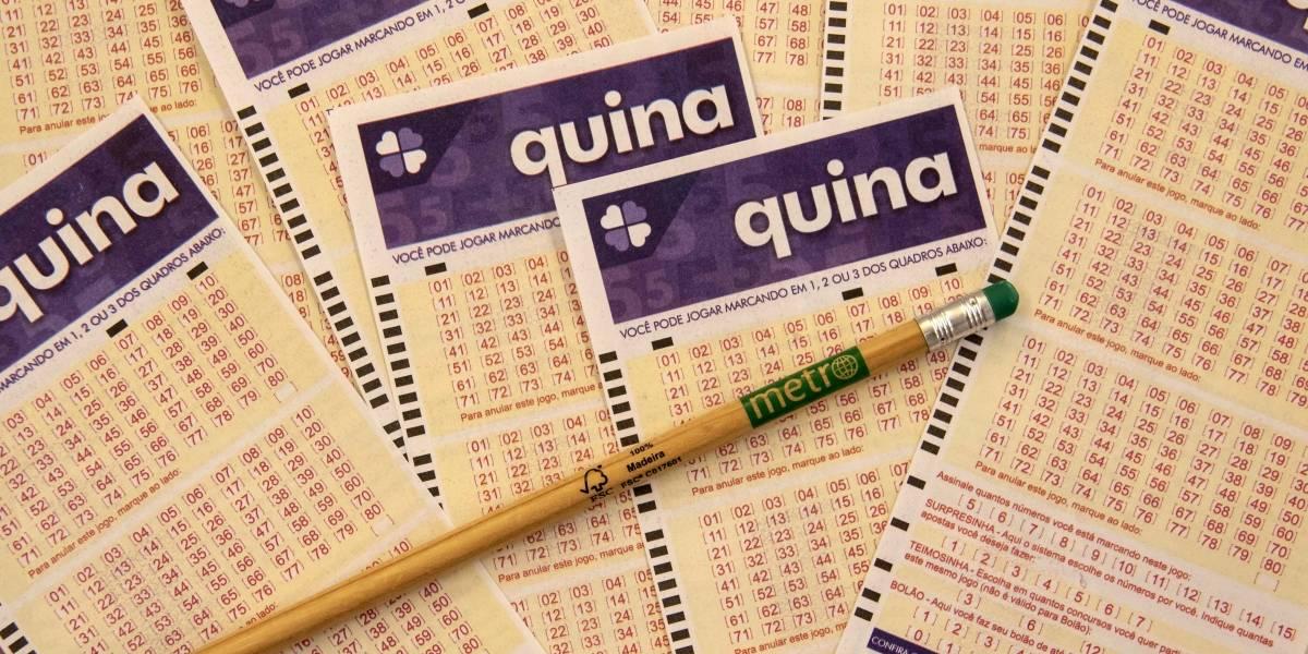 Quina 5320: veja os números sorteados nesta quarta, 22 de julho