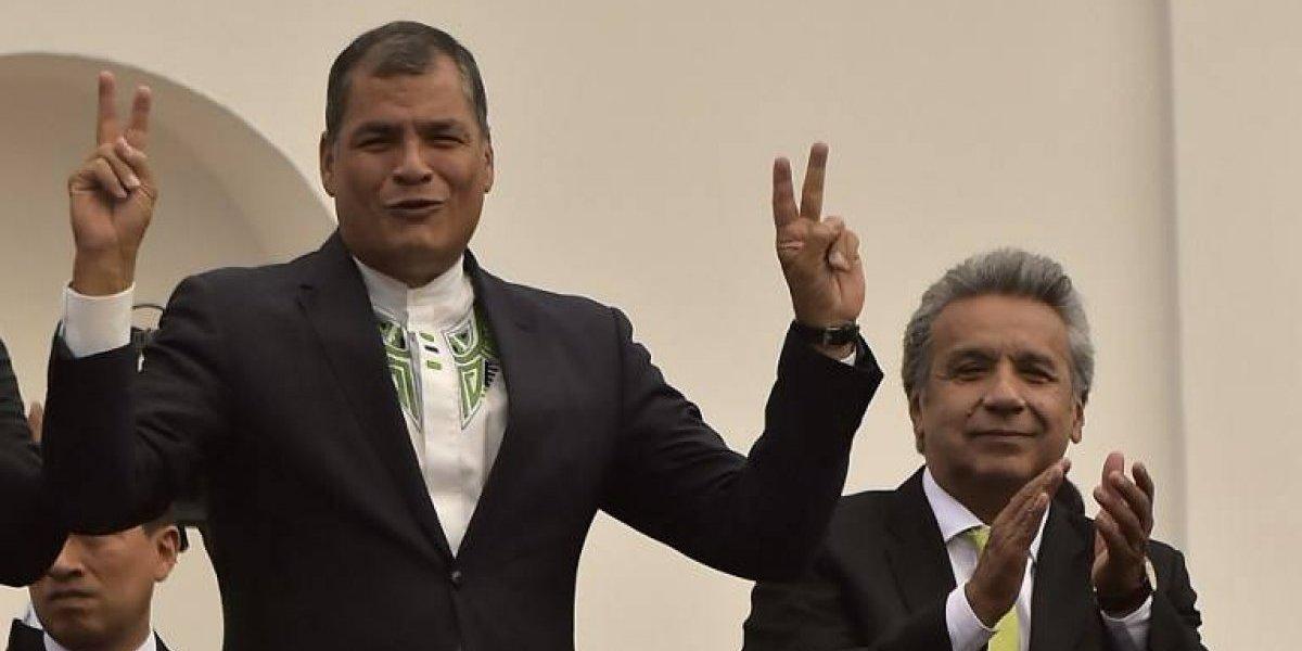 Lenín Moreno denuncia multimillonaria corrupción en gobierno de Rafael Correa