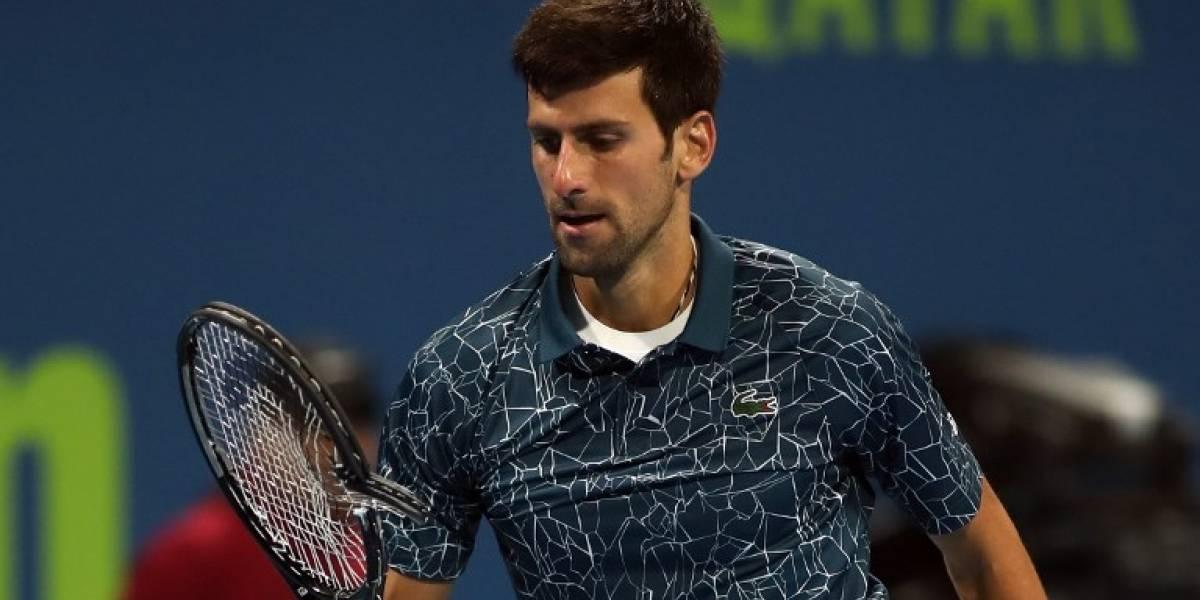 ¡Sorpresa! Djokovic cae eliminado en el torneo de Doha