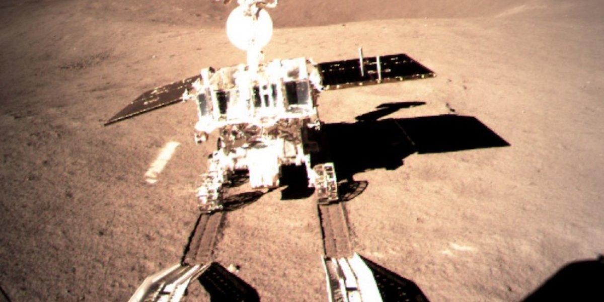 Carrito robótico de China explora superficie del lado lejano de la Luna
