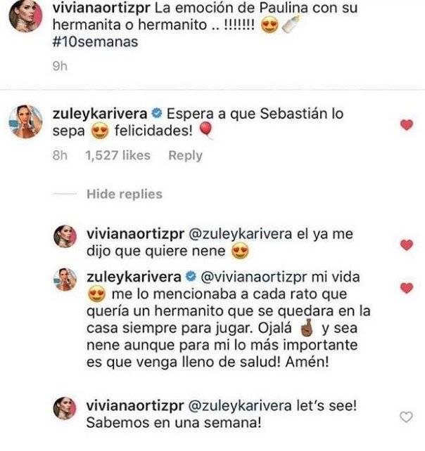 Zuleyka Rivera y Viviana Ortiz