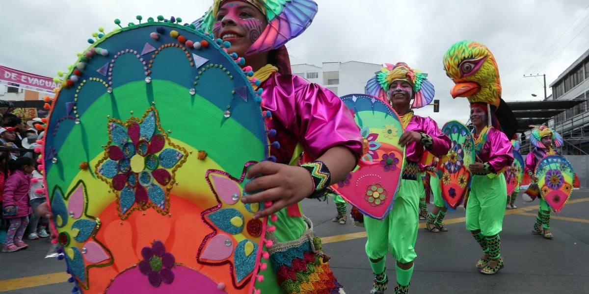 """Las carrozas del carnaval de Pasto: el """"saber hacer"""" se queda en casa"""