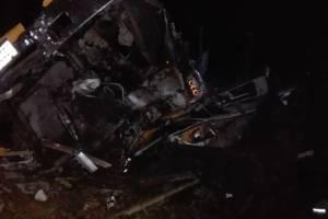 accidente de bus en San Marcos