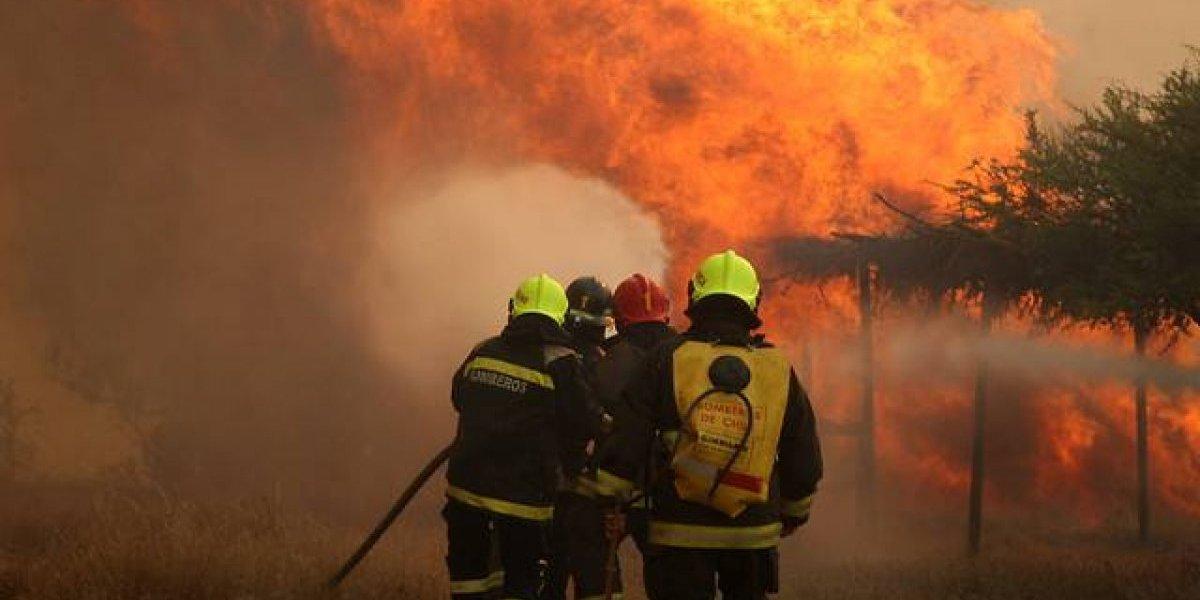 Último balance de la Conaf: se han reportado 26 incendios forestales y 7 se encuentran activos