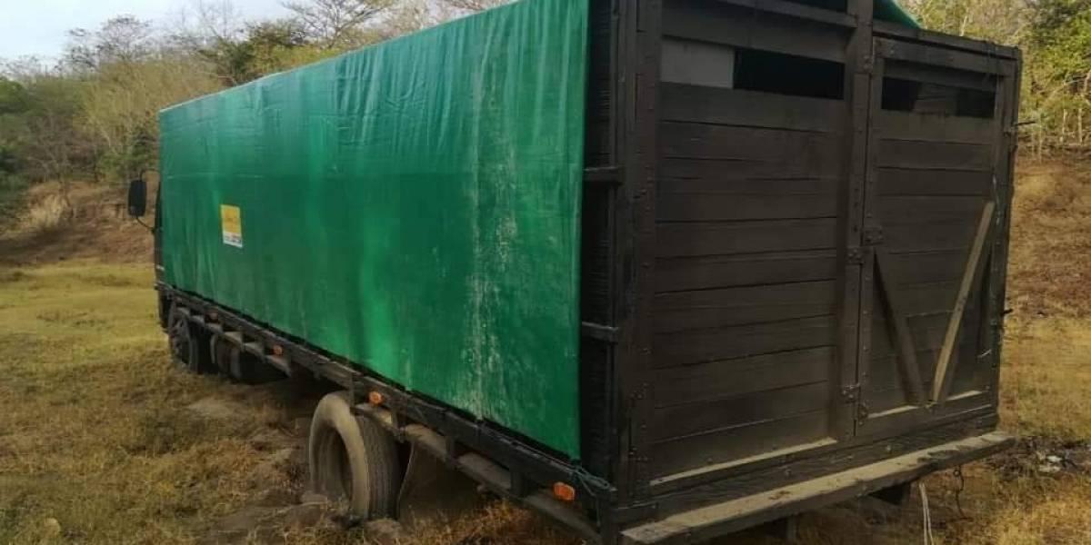 PNC intercepta camión con mercadería de contrabando valorada en más de Q1 millón