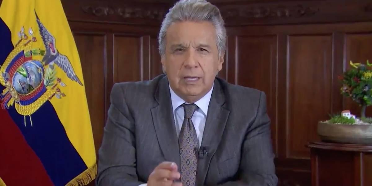 Lenín Moreno no enviará delegación a la posesión de Nicolás Maduro