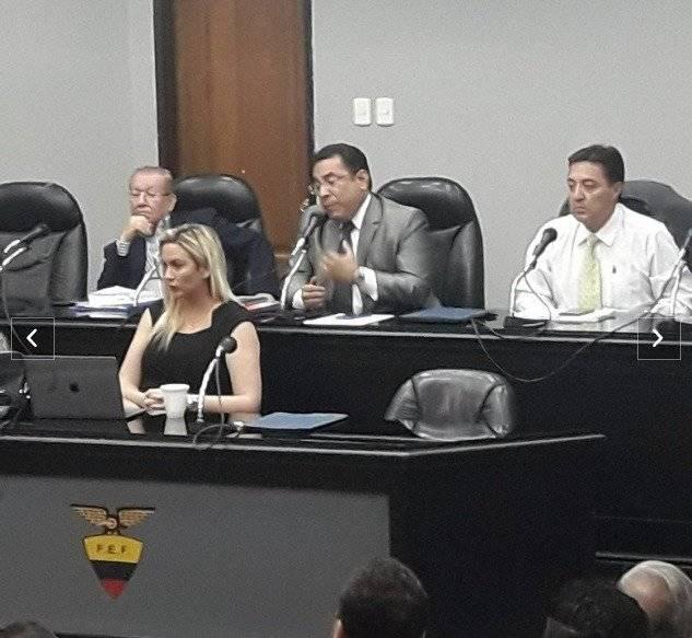 La FEF Reducen la suspendió a Michael Arroyo