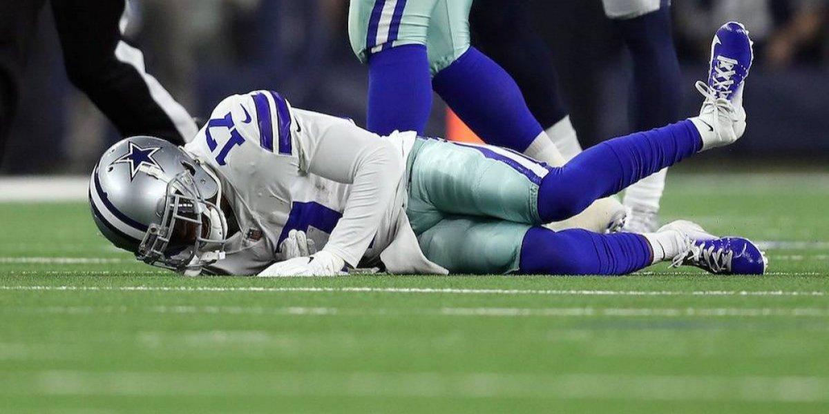 Allen Hurns de Cowboys se rompe el tobillo en duelo ante Seahawks