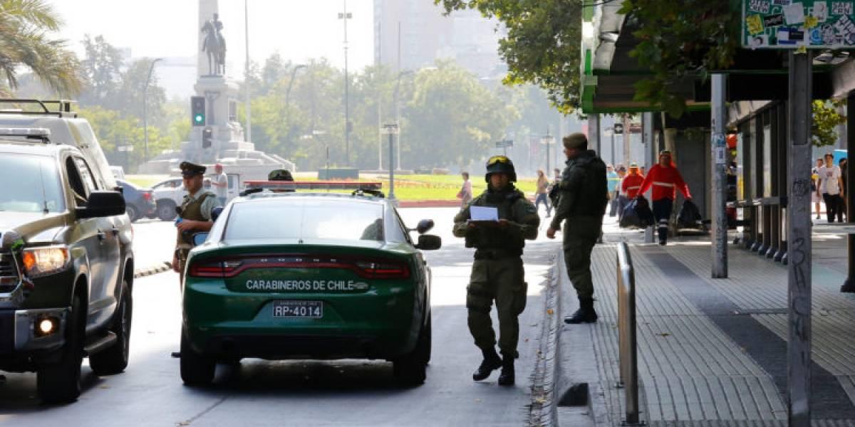 Tres operativos por posibles artefactos explosivos se llevaron a cabo este sábado