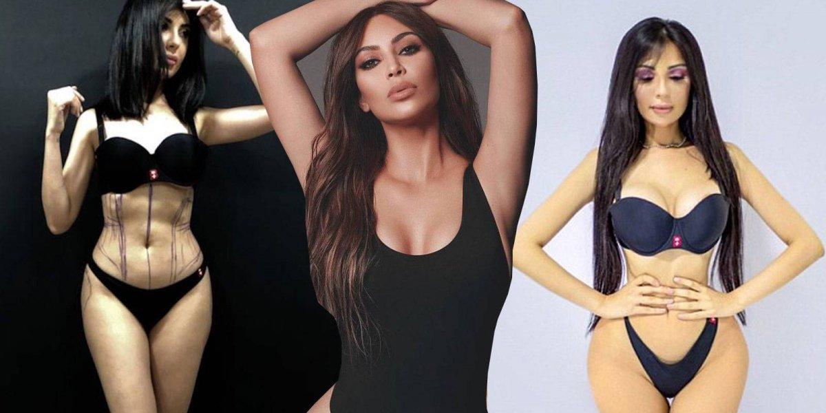 Mujer gastó millones de dolares para parecerse a Kim Kardashian