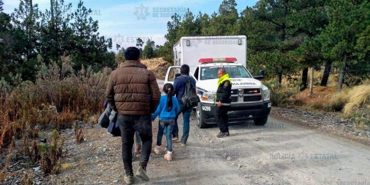 Rescatan a familia extraviada en el Nevado de Toluca